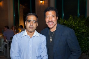 dubai photographer with Lionel Richie photo