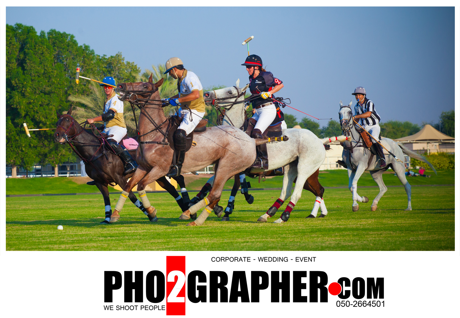 Dubai polo sport photography