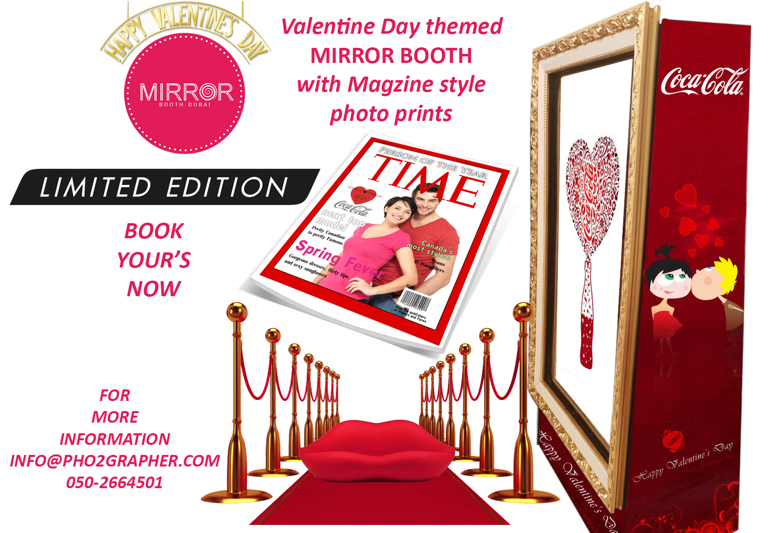 valentine day photo booth in dubai