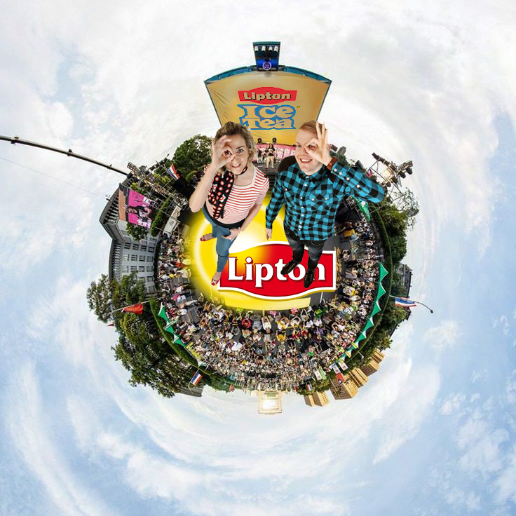 Tiny Planet Photo-Booth uae