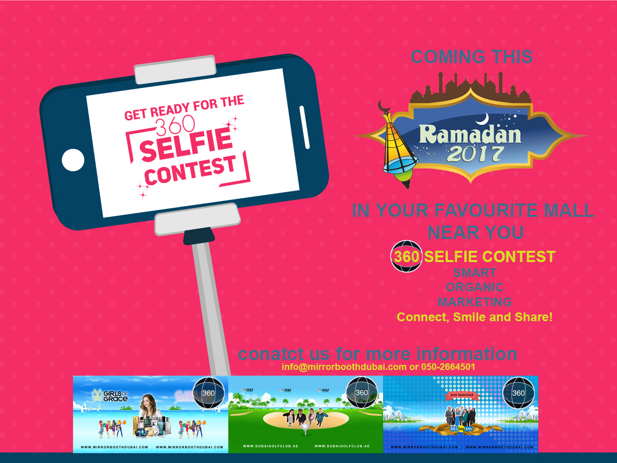 RAMADAN selfie tent 360 photo booth